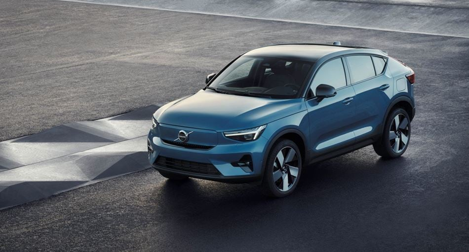 Новий електрокар Volvo C40 Recharge